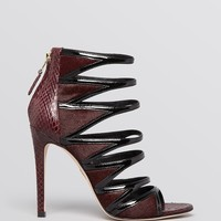 B Brian Atwood Open Toe Strappy Evening Sandals - Lynnden High Heel