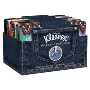 Kleenex Facial Tissues Slim Pack 6 Count