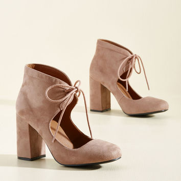 Strength Times Height Block Heel | Mod Retro Vintage Heels | ModCloth.com