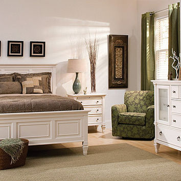 Somerset 4 pc queen bedroom set from raymour flanigan - Raymour and flanigan living room sets ...