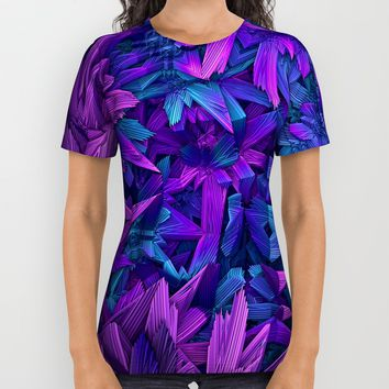 Purple Jungle All Over Print Shirt by Lyle Hatch