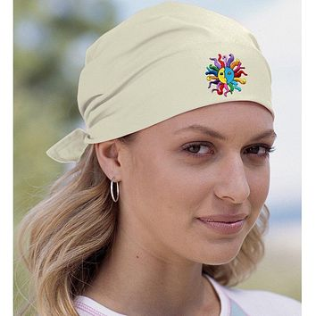 Yoga Bandana - Hippie Sun Patch