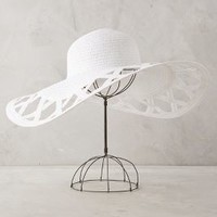 Fenestre Sun Hat by Helene Berman London White All Hats