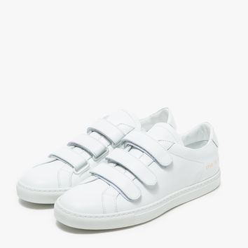Woman by Common Projects / Achilles Three Strap in White