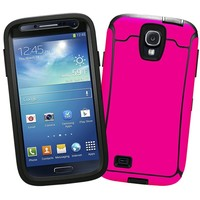 """Hot Pink """"Protective Decal Skin"""" for OtterBox Defender Samsung Galaxy S4 Case"""