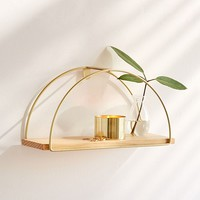 Darby Half Circle Shelf | Urban Outfitters