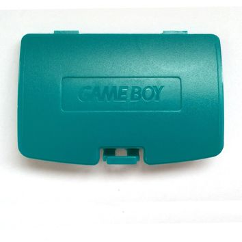 Games&Tech Teal Blue Nintendo GameBoy Game Boy Color GBC Battery Cover Lid Door Replacement