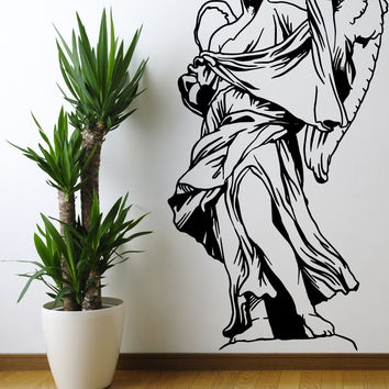 Vinyl Wall Decal Sticker Angel of Rome Statue #OS_MB562
