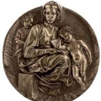 Wall Art | Pitti Madonna Plaque