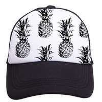 Pineapples Trucker Hat (Toddler) by Tiny Trucker Co.