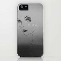 Eyes, Nose, Lips iPhone & iPod Case by Sara Eshak