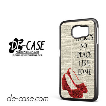Wizard Of Oz Quote There No Place Like Home For Samsung Galaxy S6 Samsung Galaxy S6 Edge Samsung Galaxy S6 Edge Plus Case Phone Case Gift Present YO