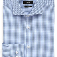 BOSS 'Jason' Slim Fit Check Dress Shirt,