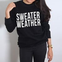 Sweater Weather Crewneck Pullover (ASHIRA)