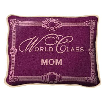 Pure Country Weavers World Class Mom Decorative Pillow