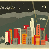 Los Angeles, California - Night