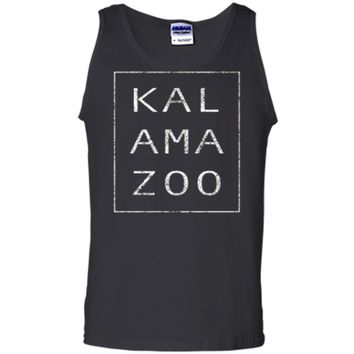 The Original Modern Retro Kalamazoo Michigan T Shirt Gift Tank Top