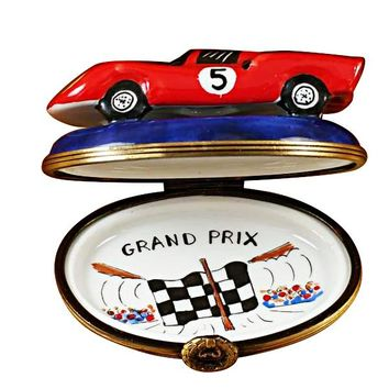 Formula One Race Car Limoges Boxes Rochard
