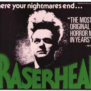 Eraserhead Movie Poster 11x17