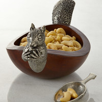 Squirrel Nut Bowl with Scoop - Vagabond House