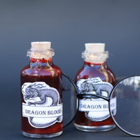 Harry Potter - Dragon Blood - Gift Under 10 dollars - Glass Bottle