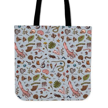 Biochemistry Research Linen Tote Bag