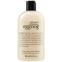 Sephora: Philosophy's Old Fashioned Eggnog Shampoo, Shower Gel & Bubble Bath : body-cleanser-bath-body