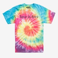 Love Is Love Tie Dye T-Shirt Hot Topic Exclusive