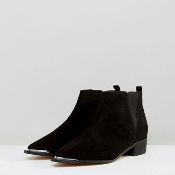 ASOS ADMISSION Wide Fit Pointed Ankle Boots at asos.com