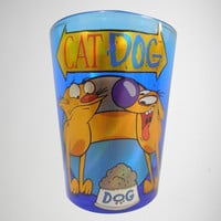 2 oz. CatDog Shot Glass