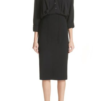 Jason Wu Ruched Blouson Dress | Nordstrom