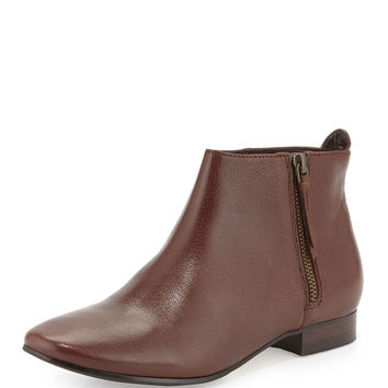 Belmont Leather Bootie, Chestnut - Cole Haan