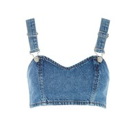 topshop denim bra - Google Search