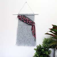 Woven Wall Hanging - Boho Kids Decor - Handwoven - Weaving - Wall Art - Tapestry - Wall Decor - Home Decor - Nursery Decor - Bohemian Decor