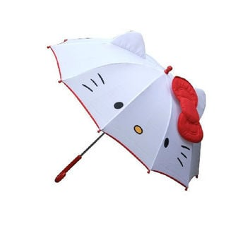 Hello Kitty children anime umbrella