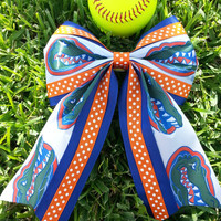 Gators Cheer bow