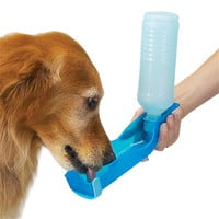 New 250ml Foldable Pet Dog Cat Water Drinking Bottle Dispenser Travel Feeding Bowl outdoor travel puppy drinker supply