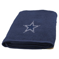 Dallas Cowboys NFL Applique Bath Towel