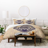 Chobopop Geometric Bison 1 Duvet Cover