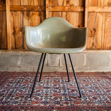 Early Seafoam Green Herman Miller Chair