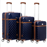 Anne Klein Greenwich 3-piece Hardside Spinner Luggage Set | Overstock.com Shopping - The Best Deals on Three-piece Sets