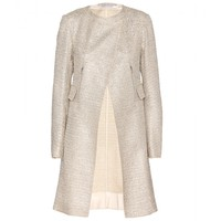 nina ricci - sequinned tweed coat