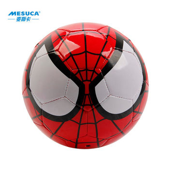 Free Shipping 2016 Disney Marvel Super Hero Spider Man PVC Official Soccer Ball Size 2 Size 3 Size 5 Toy Football Ball