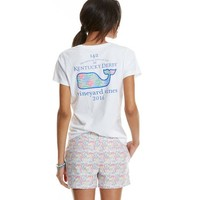 Short-Sleeve Patchwork Whale Fill Pocket Tee