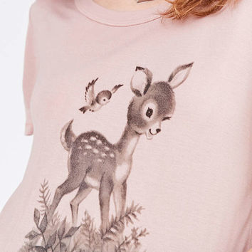 Truly Madly Deeply 70s Animal Tee - Urban Outfitters