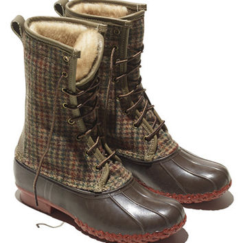 Women's Signature Wool L.L.Bean Boots, 10 Shearling-Lined at L.L.Bean