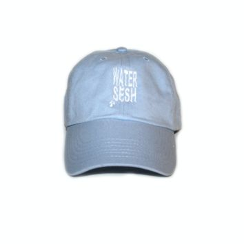 "TeamSESH — ""WaterSesh"" Embroidered Cap"