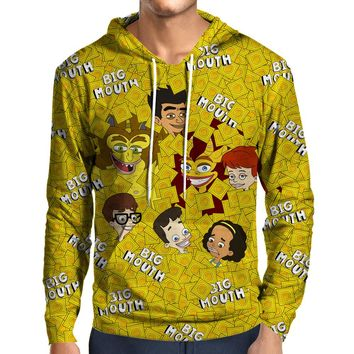 Big Mouth Collage Hoodie