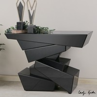 Uttermost Tauri Modern Console Table