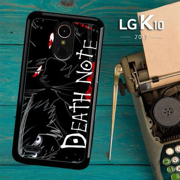 Death Note Anime Z0463 LG K10 2017 / LG K20 Plus / LG Harmony Case
